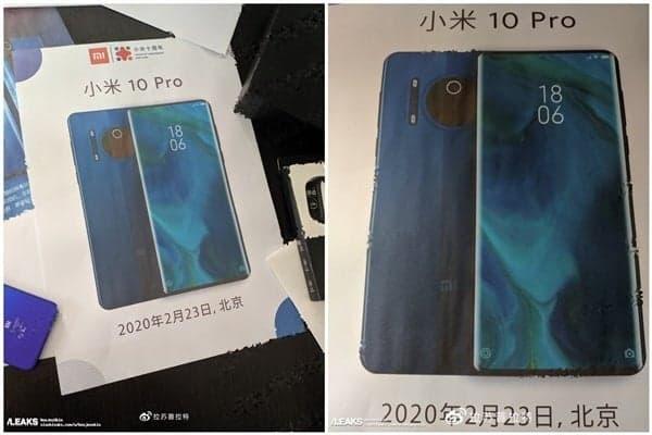 Xiaomi Mi 10 Pro plotki opakowanie przecieki wycieki specyfikacja dane techniczne kiedy premiera