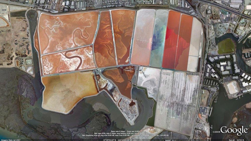 Tapety Google Earth View krajobrazy widoki