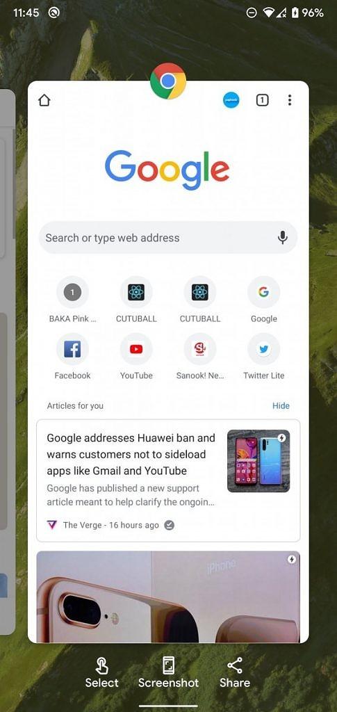 Pixel Launcher Android 11 beta nowości