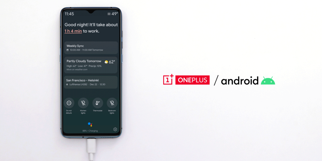 Asystent Google Ambient Mode na telefony OnePlus