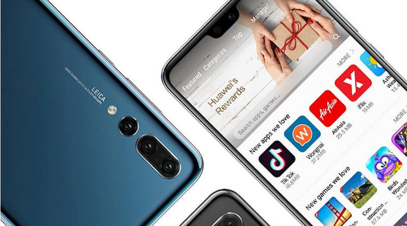 Huawei AppGallery EMUI 10 aplikacje Google na telefon Twitter Facebook Instagram