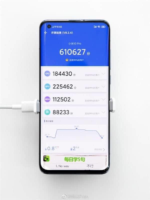 Xiaomi Mi 10 Pro 5G aktualizacja MIUI 11 rekord w AnTuTu