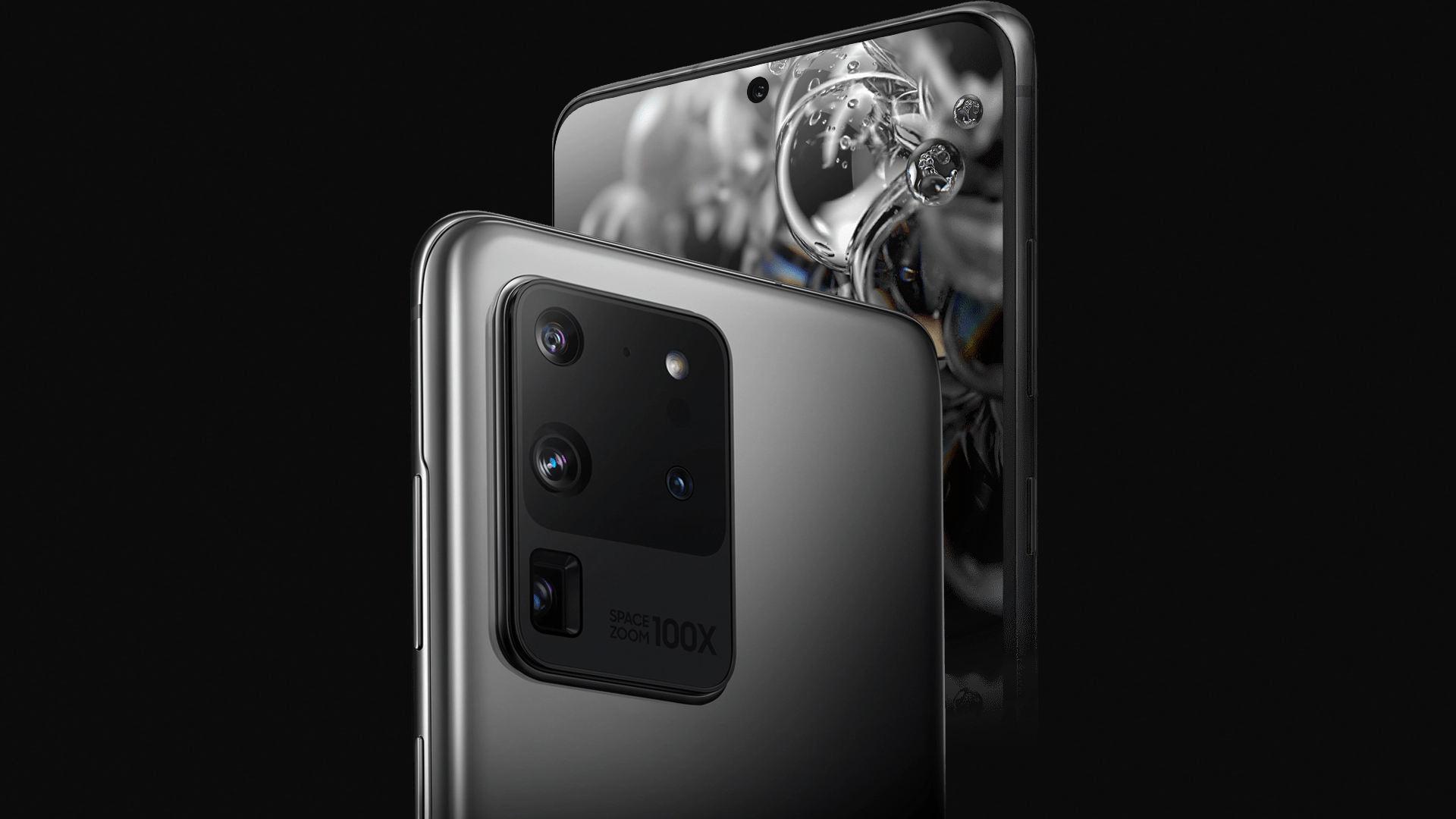 reklama Samsung Galaxy S20 Ultra 5G aparat sensor ISOCELL Bright HM1 specyfikacja dane techniczne ładowanie jaka ładowarka