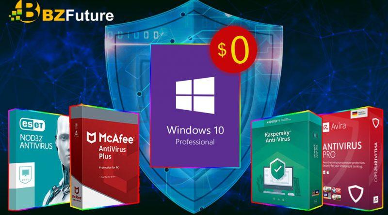 promocja na antywirusy jak aktywować klucz Windows 10 Pro OEM