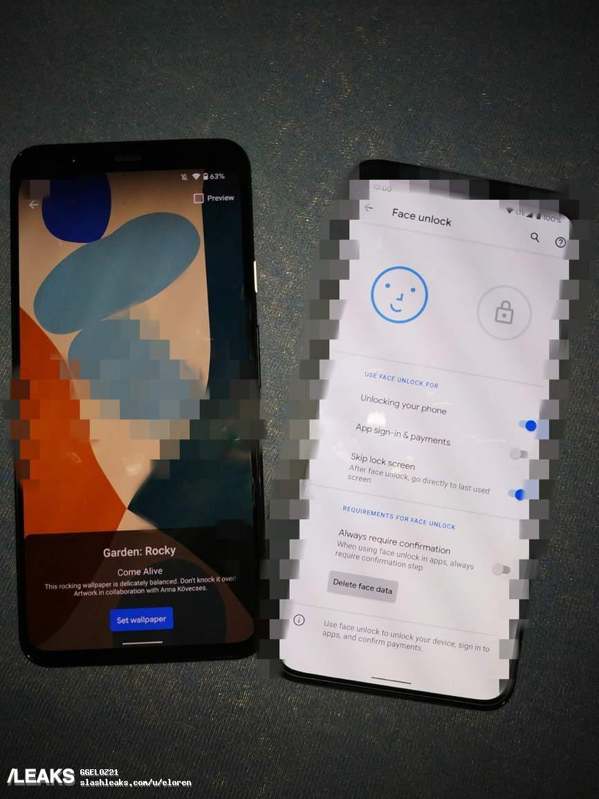 Google Pixel 5 XL zdjęcie plotki przecieki design wygląd kiedy premiera