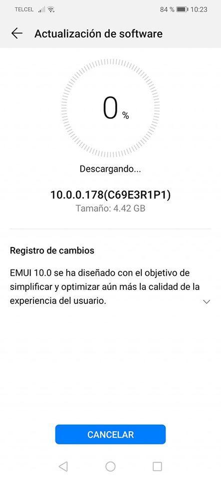 Aktualizacja EMUI 10 Android 10 dla Huawei Mate 20 Lite