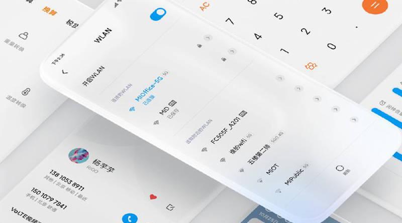 MIUI 11 beta zarządzanie autoryzacjami Xiaomi