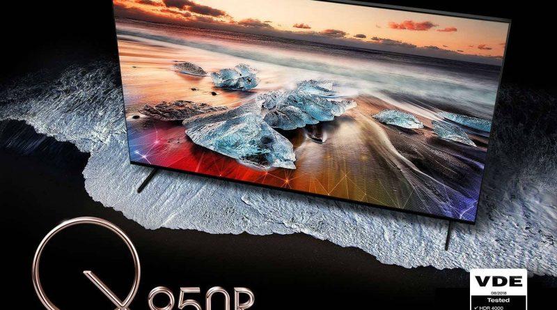 Samsung QLED 8K telewizory Smart TV pierwsze z Wi-Fi 6 opinie YouTube 8K AV1