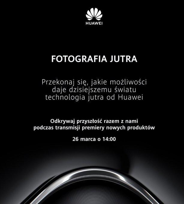 premiera Huawei P40 Pro kiedy gdzie oglądać jak live stream konferencja Huawei