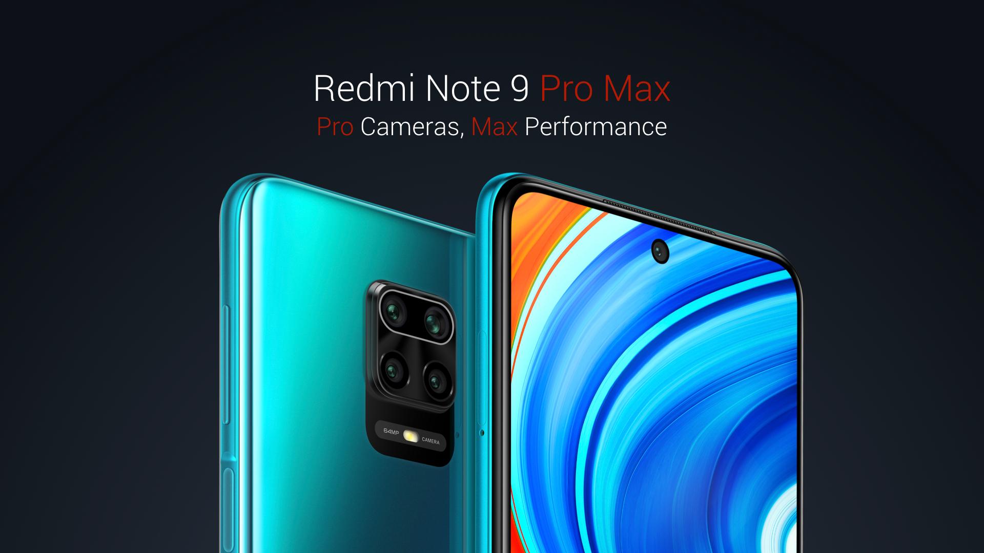 premiera Redmi Note 9 Pro Max cena opinie kiedy w Polsce specyfikacja dane techniczne