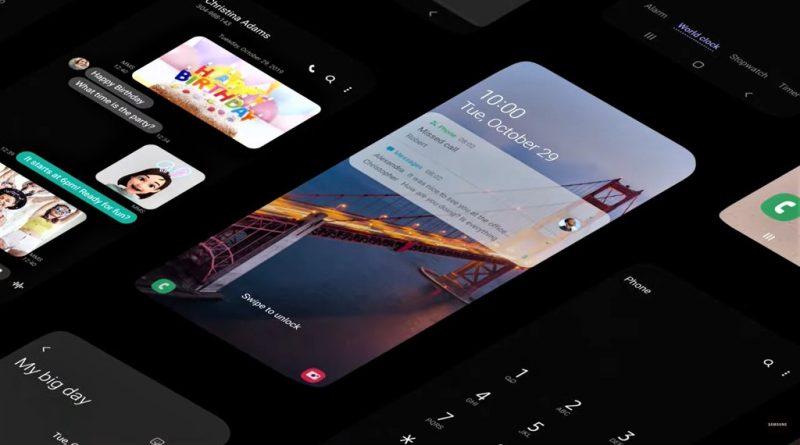 aktualizacja Android 10 One UI Samsung Galaxy A40 A80 A7 2018