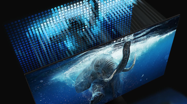 telewizory 2020 Samsung QLED 8K 4K złącze HDM 2.1 AN1 YouTube