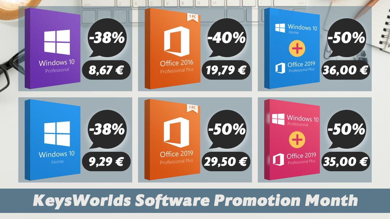 promocja na Windows 10 Pro Microsoft Office 2019 Professional