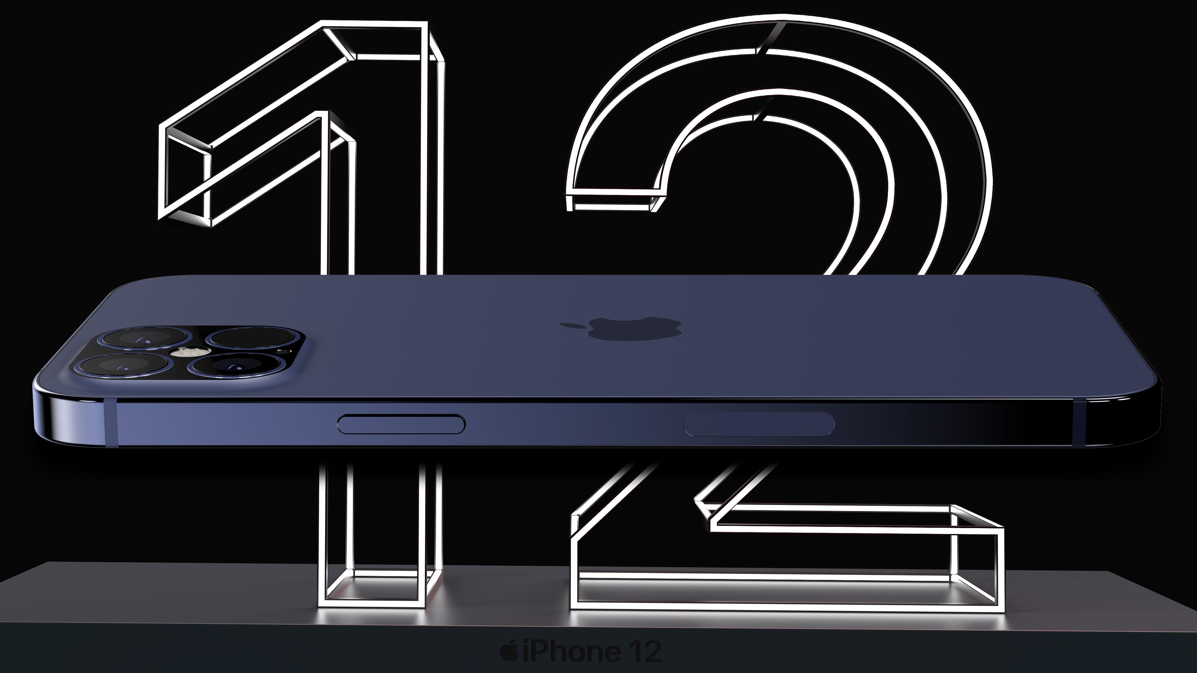 Apple iPhone 12 Pro Max cena rendery design plotki przecieki wycieki kiedy premiera wygląd 5G pamięć na dane 128 GB