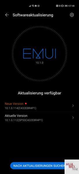 Huawei P40 Pro aktualizacja EMUI 10.1