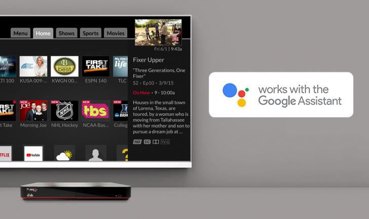 Asystent Google telewizory smart TV przystawki piloty