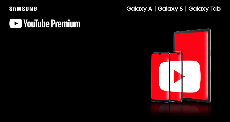 YouTube Premium za darmo na smartfony Samsung Galaxy