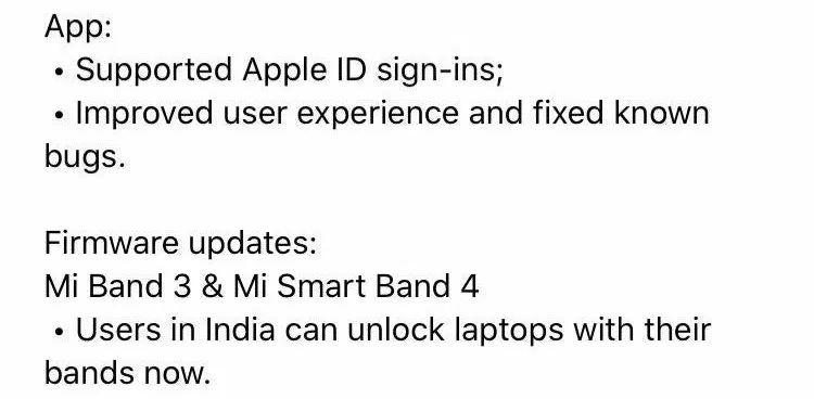Xiaomi Mi Band 4 Mi Band 3 aktualizacja Mi Fit odblokowywanie Windows 10