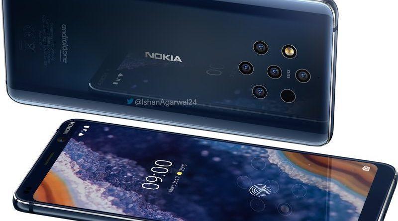 Nokia 9.3 Pureview 5G plotki przecieki wycieki kiedy premiera specyfikacja dane techniczne