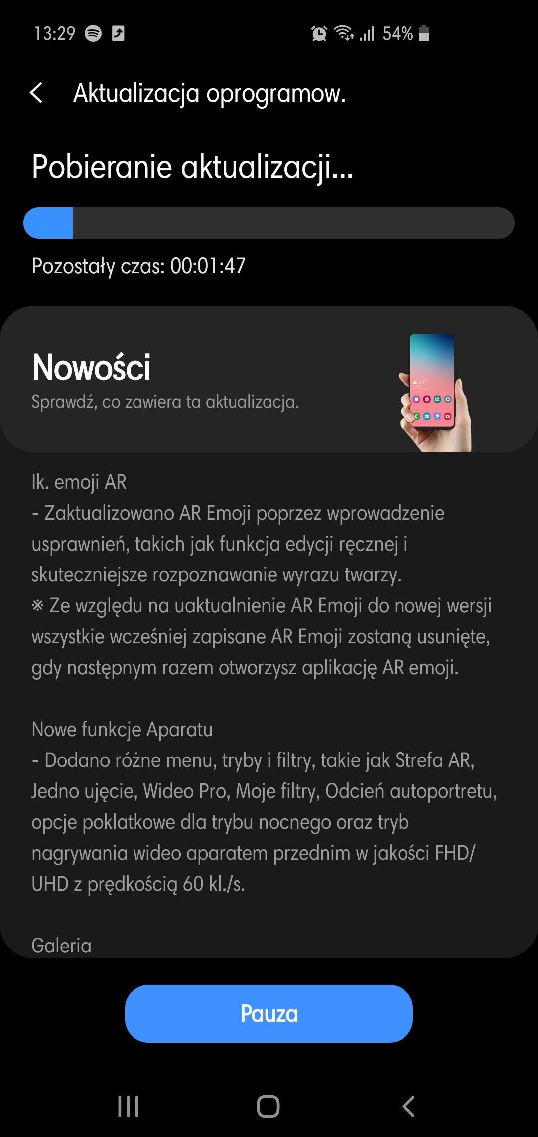 One UI 2.1 aktualizacja Android 10 Samsung Galaxy S10 Galaxy Note 10 w Polsce XEO opinie czy warto instalować