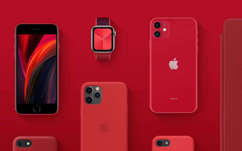 Apple iPhone SE PRODUCT RED COVID-19