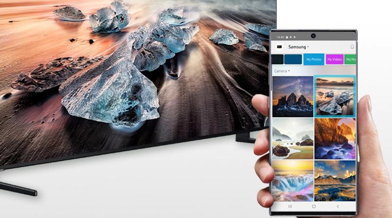 aplikacja Samsung Smart View sterowanie starsze telewizory koniec wsparcia
