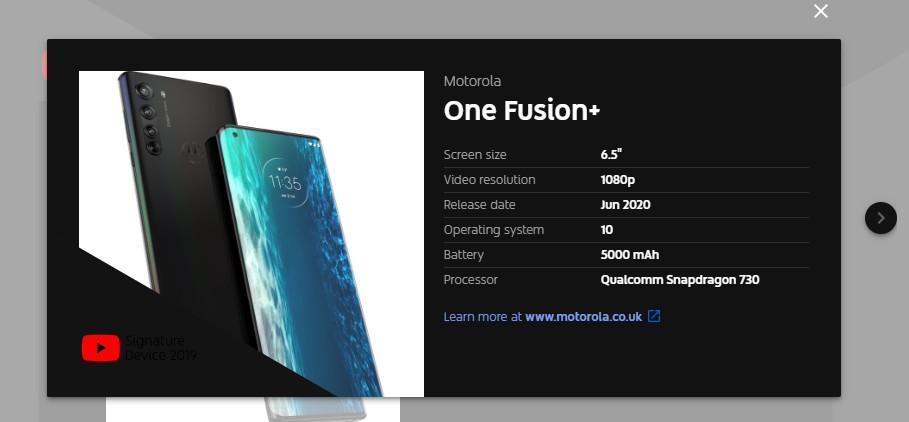 Motorola One Vision Plus plotki przecieki wycieiki kiedy premiera specyfikacja dane techniczne