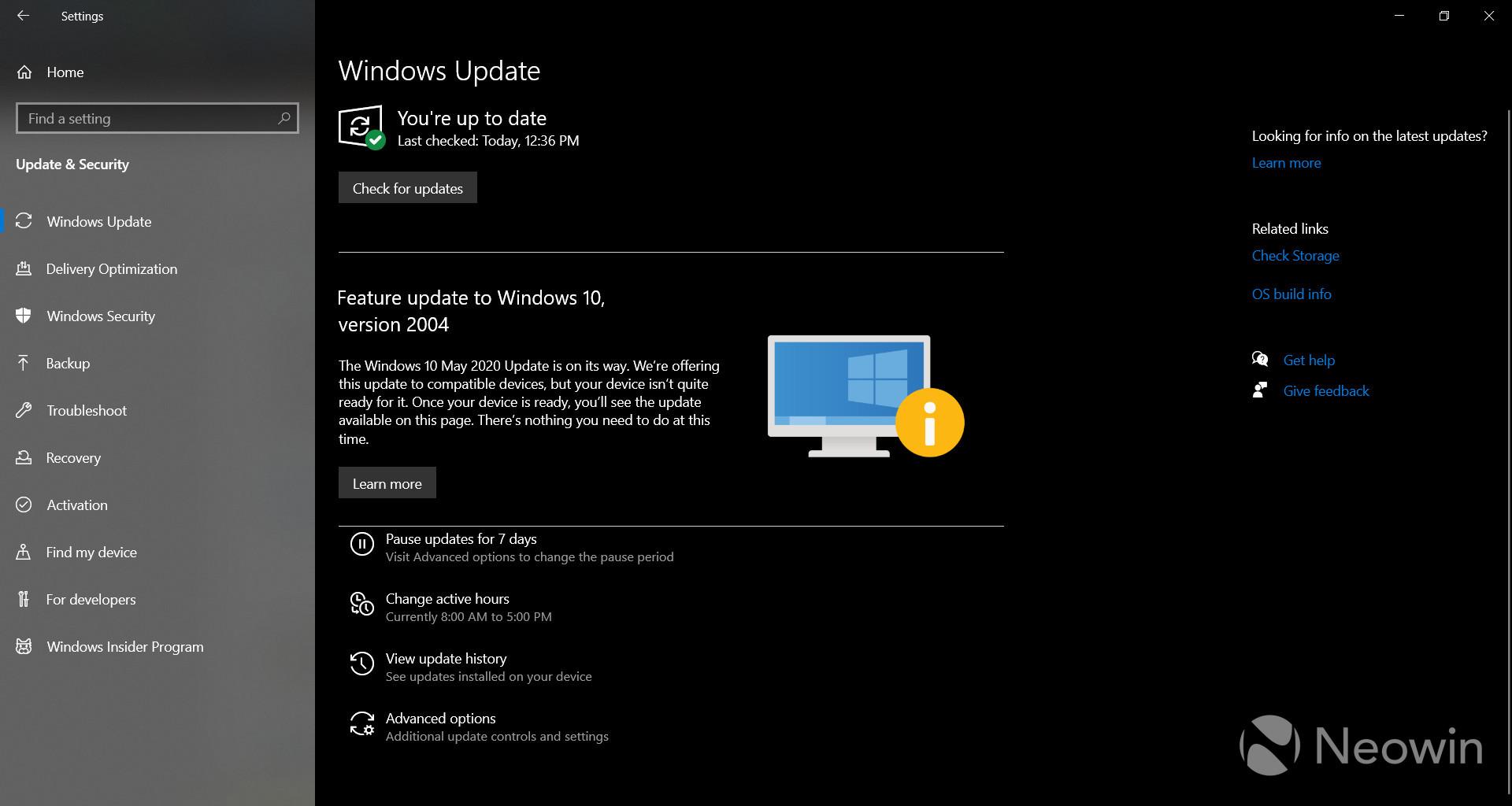 majowa aktualizacja Windows 10 2004 May 2020 Update blokada instalacji