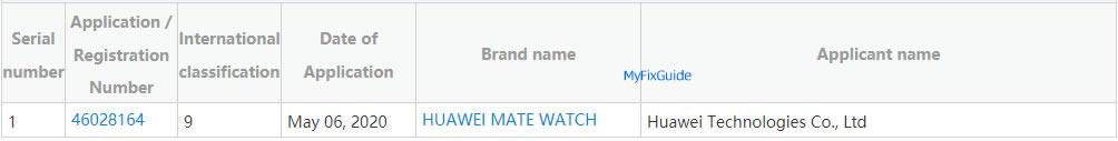 smartwatch Huawei Mate Watch Mate 40 Pro plotki przecieki wycieki