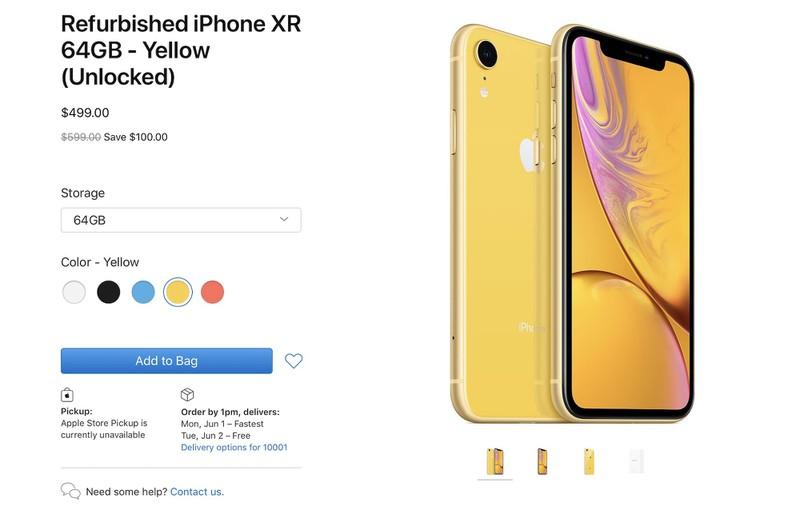 refurbished odnowiony iPhone Xr cena opinie Apple gdzie kupić najtaniej w Polsce