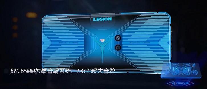 smartfon do gier Lenovo Legion plotki przecieki wycieki specyfikacja design wygląd dane techniczne