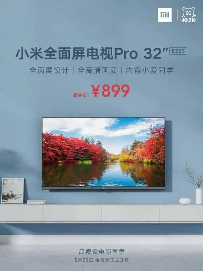telewizor Xiaomi Mi TV Pro E32S cena opinie gdzie kupić najtaniej dane techniczne specyfikacja