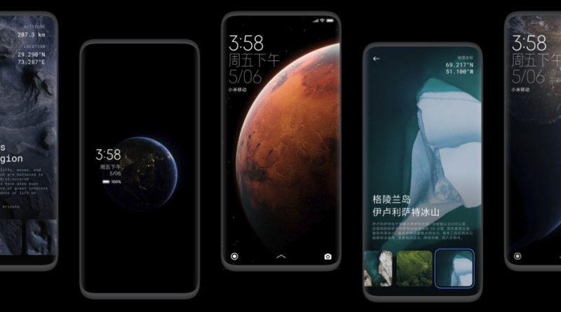 aktualizacja nakładka Xiaomi MIUI 12 Stable częściowy zrzut ekranowy
