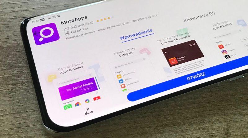 MoreApps czyli jak zainstalować na smartfpnie telefonie Huawei aplikacje Google Maps i inne