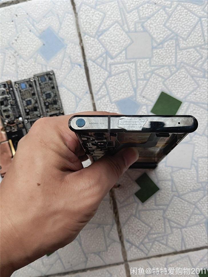 Xiaomi Mi Mix Alpja rozebrany od środka zjawiskowy smartfon dane techniczne specyfikacja