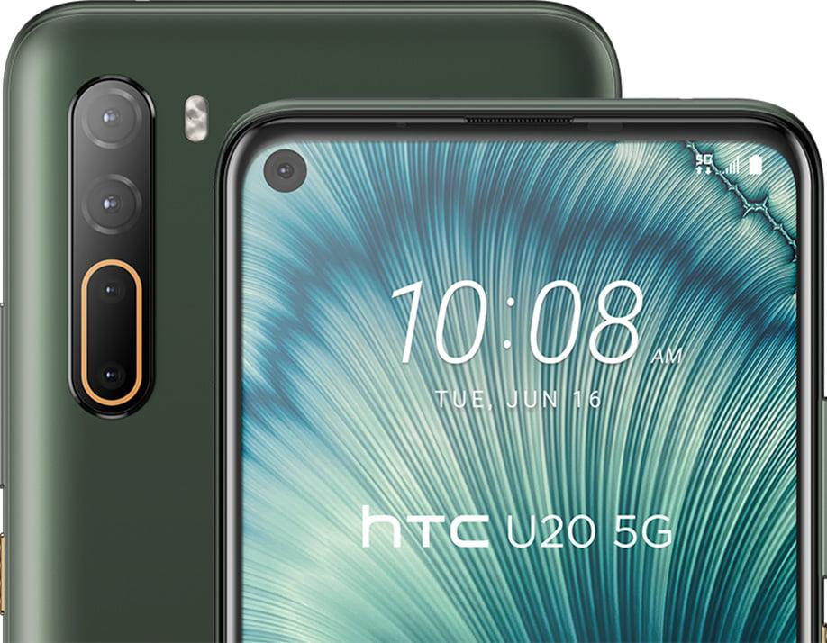 premiera HTC U20 5G cena specyfikacja dane techniczne