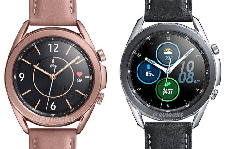 smartwatch Samsung Galaxy Watch 3 cena kiedy premiera plotki przecieki wycieki rendery kolory obudowy