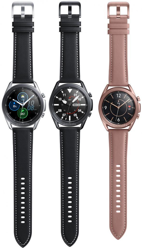 smartwatch Samsung Galaxy Watch 3 kiedy premiera plotki przecieki wycieki rendery kolory obudowy