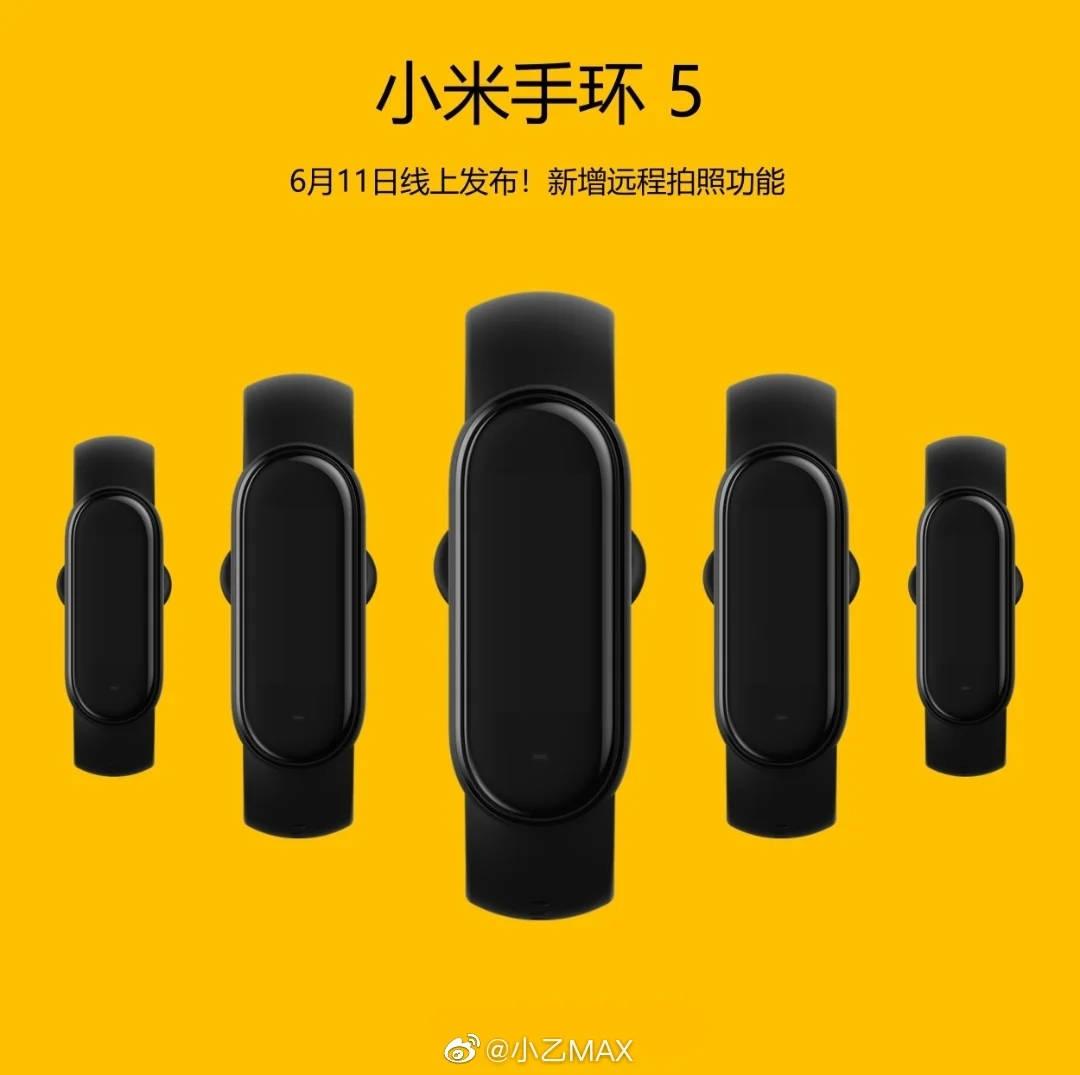 Xiaomi Mi Band 5 plotki przecieki wycieki NFC kiedy premiera funkcje robienie zdjęć