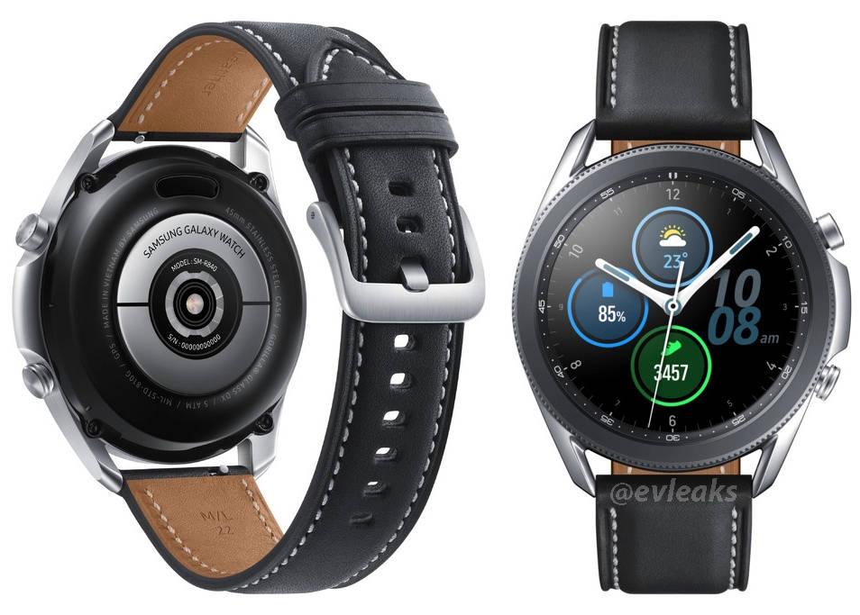 render Samsung Galaxy Watch 3 cena smartwatche 2020 plotki przecieki wycieki kiedy premiera