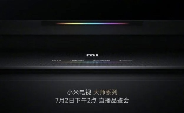 telewizory Xiaomi Mi Master TV OLED z PatchWall Android TV