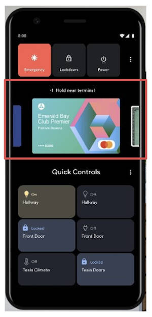 Android 11 beta menu włączmik