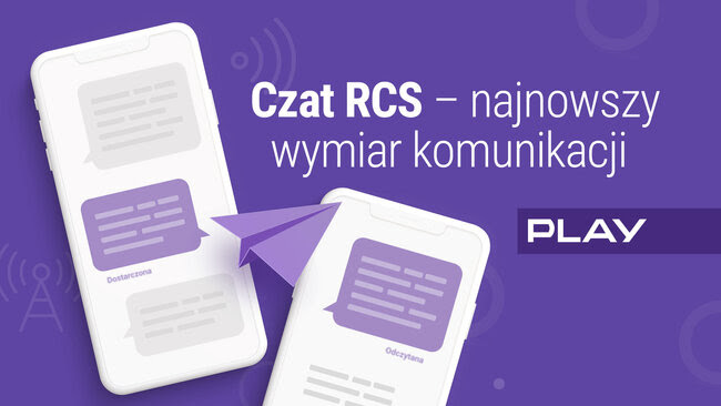 następca SMS czat RCS Play Polska