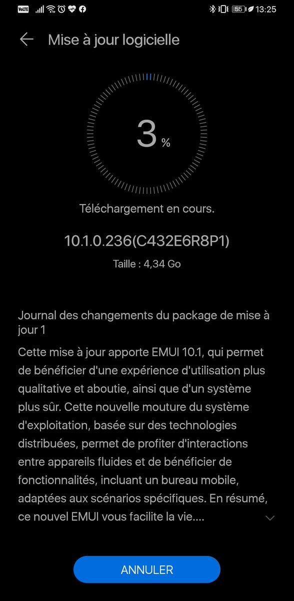 aktualizacja EMUI 10.1 Stable dla Huawei Mate 30 Pro w Europie opinie