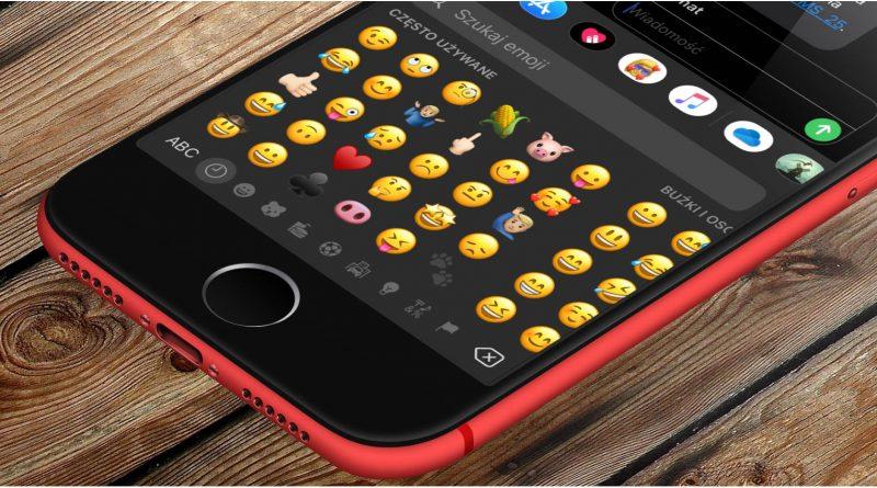 iOS 14 nowe emoji szukanie Apple klawiatura iPhone