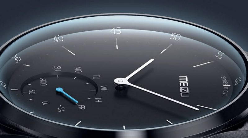 Smartwatch Meizu Watch Flyme for Watch Wear OS plitki przecieki kiedy premiera