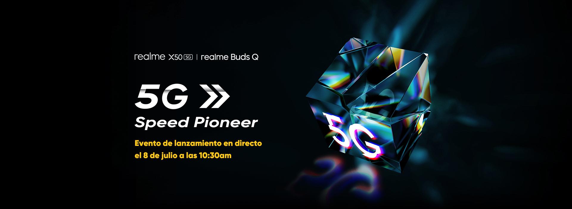 Realme X50 5G cena opinie plotki przecieki specyfikacja dane techniczne kiedy premiera w Europie słuchawki Buds Q