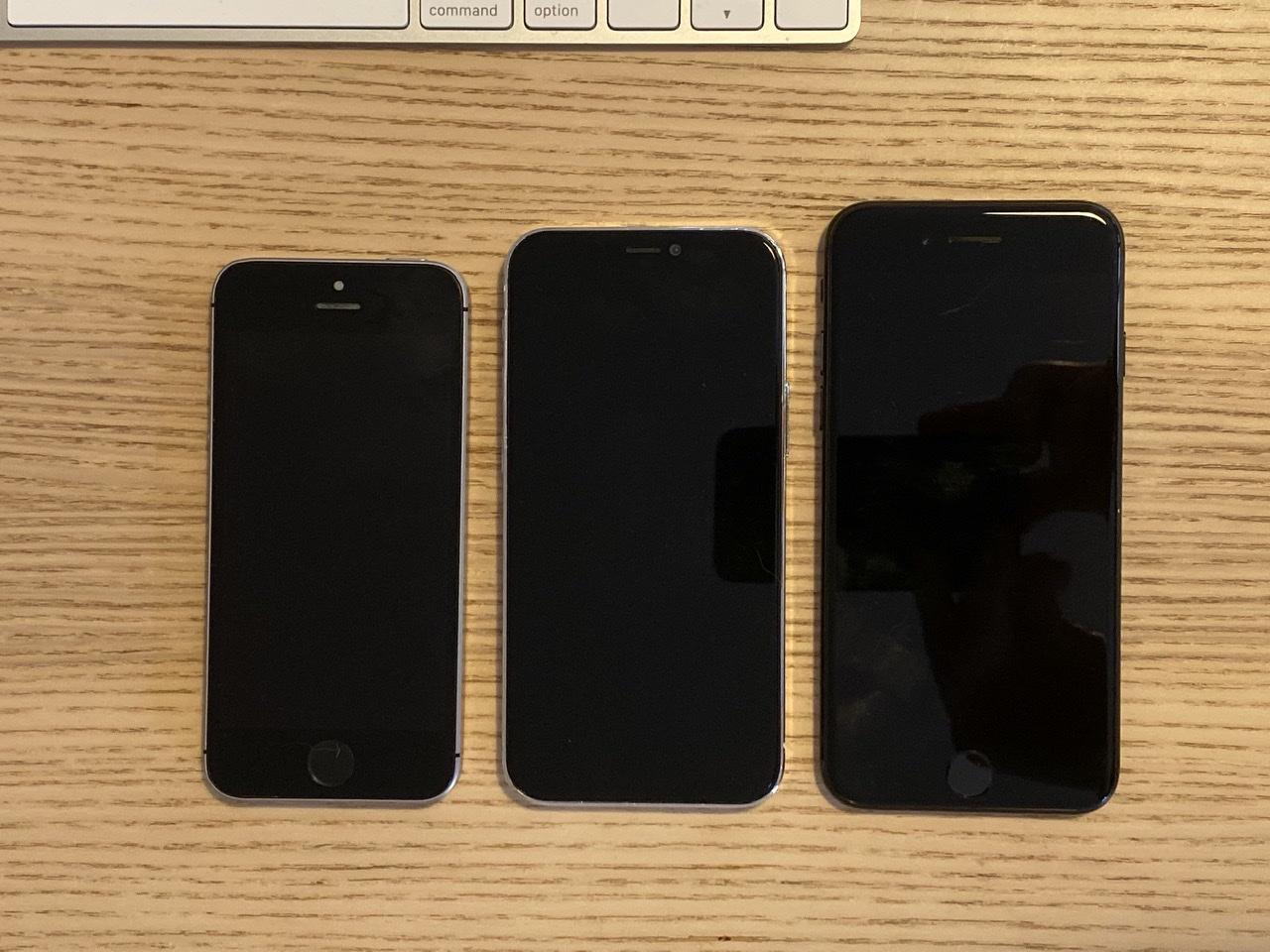 makieta Apple iPhone 12 5G plotki przecieki wycieki porównanie z iPhone SE 7