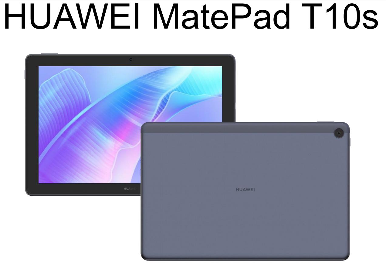 Huawei MatePad T10s specyfikacja dane techniczne tablet rendery