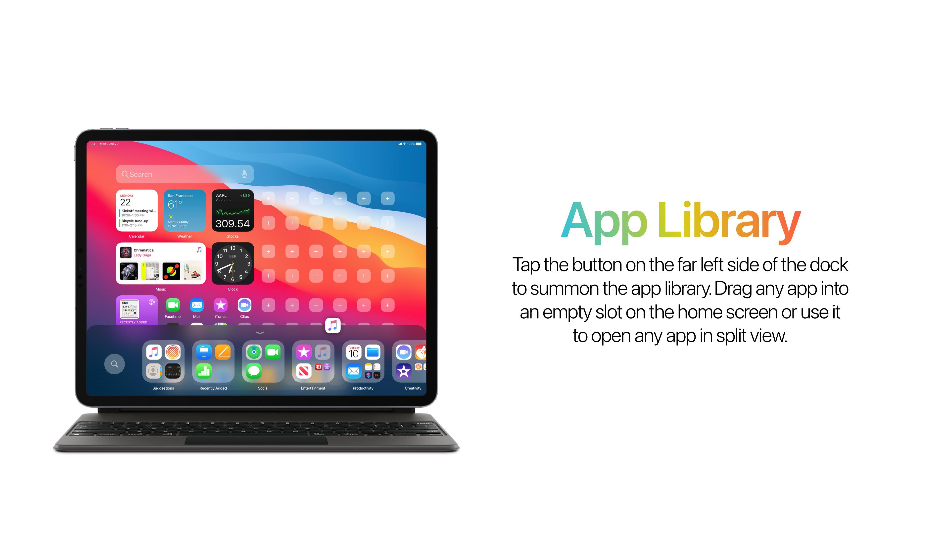iPadOS 15 iPadOS 14 aktualizacja Apple koncept widżety